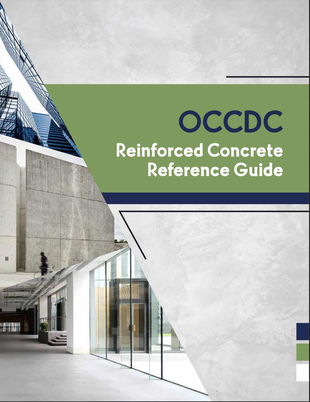 OCCDC Reinforced Concrete Reference Guide 2021